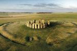 Stonehenge - aerial view